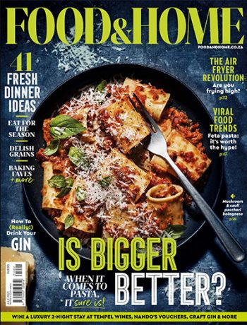 Food & Home July Cover