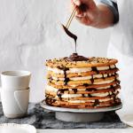 Armenian-style eight layer cake
