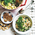 Cauliflower & rocket risotto